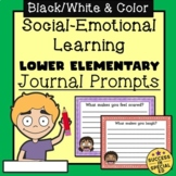 Social Emotional Learning Journal Prompts for Lower Elementary