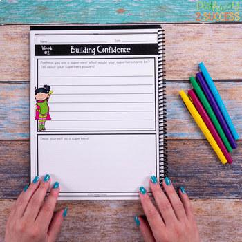 Social Emotional Learning Journal for Little Learners