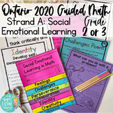 Social Emotional Learning Math Strand A: SEL Ontario 2020