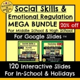 Social Emotional Learning Mega Bundle Middle and High Scho