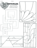 Social Emotional Learning: Mindful Zentangles with Geometric Patterns
