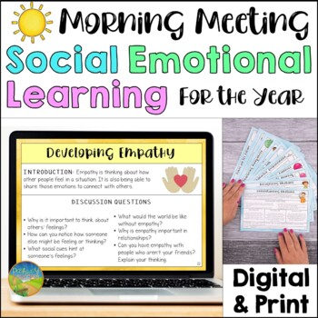 Social Emotional Learning Morning Meeting