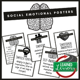 Social Emotional Learning Posters, SEL Posters