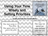 Social Emotional Learning-Priorities for the New Year & Using Time Wisely