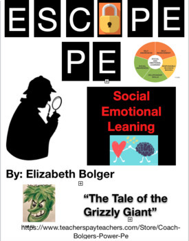 Social Emotional Learning (SEL) Escape Room