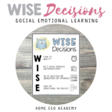Social Emotional Learning SEL Lesson Plan - WISE Decisions - Self-Management
