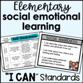 "Social Emotional Learning (SEL) ""I Can"" Statements"