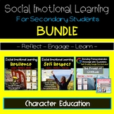 Social Emotional Learning Secondary Students   Character E