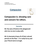 Social Emotional Learning: Showing Compassion Discussion Questions
