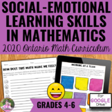 Social-Emotional Learning Skills in Math - 2020 Ontario Ma