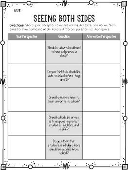Social Emotional Learning - Social Awareness Unit ...