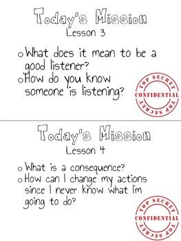 Social Emotional Learning - Social Skills Small Group Instruction
