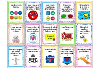 Social Emotional Learning Standards Brag Tags and Benchmark Assessment