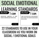Social Emotional Learning Standards   Posters