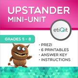 Be an Upstander to Bullying Middle School Mini-Unit | Prezi & Printables