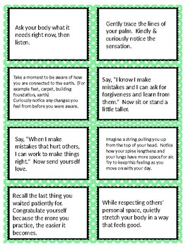 Social/Emotional Learning Task Cards