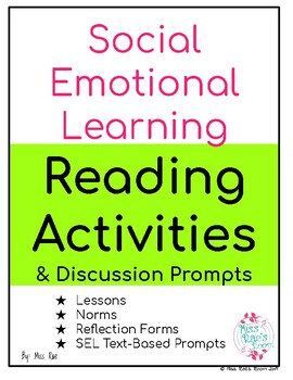 Social Emotional Learning  Reading Activities & Discussion Prompts
