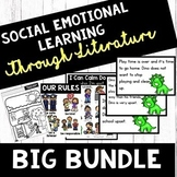Social Emotional Learning Through Literature - GROWING BUNDLE - Character Ed