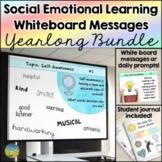 Social Emotional Learning Daily Prompts - Distance Learning