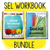 Social Emotional Learning Workbook Bundle Grades 2-12