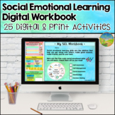 Social Emotional Learning Workbook - Distance Learning - G