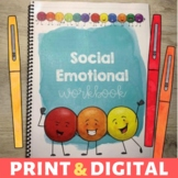 Social Emotional Learning Workbook plus Digital Version