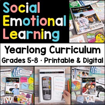 Social Emotional Learning Yearlong Curriculum Distance Learning
