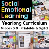 Social Emotional Learning Yearlong Curriculum - Distance Learning
