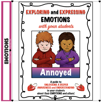 """Social Emotional Learning and Perspective Taking - """"Annoyed"""""""