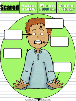 """Social Emotional Learning and Perspective Taking - """"Scared"""""""