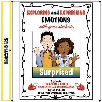 """"""" Social Emotional Learning and Perspective Taking - """"Surprised"""""""