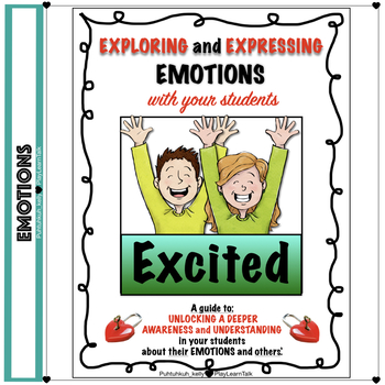 """Social Emotional Learning and Perspective Taking - """"EXCITED"""""""
