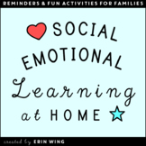 Social Emotional Learning at Home