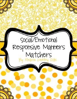 Social Emotional Manners Matchers