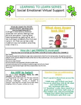 Social Emotional Newsletter for EC Teachers