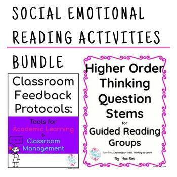 Social Emotional Reading Activities Bundle