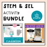 Social Emotional STEM Activity Bundle: Grades K-6 {Digital