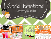 Social Emotional Skills Activity Bundle