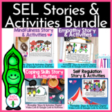 Social Emotional Skills Bundle-4 EaZy Series Stories