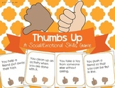Social Emotional Skills for Preschool - Thumbs Up