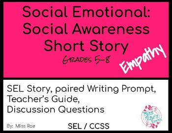 Social Emotional Social Awareness Short Story on Empathy* FREEBIE