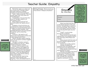 Social Emotional Social Awareness Short Story on Empathy* FREEBIE