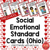 Social Emotional Standard Cards for Preschool