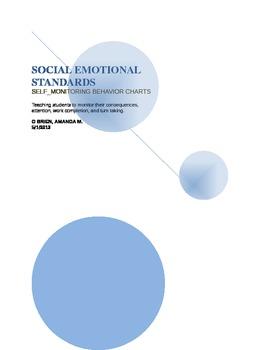 Social Emotional Standards Self- Monitoring Tools