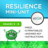 Resilience & Coping Skills Middle School Mini-Unit | Prezi & Printables