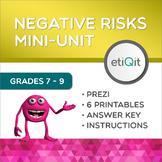 Negative Risks & Decision-Making Middle School Mini-Unit   Prezi & Printables