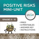 Positive Risks & Decision-Making Middle School Mini-Unit   Prezi & Printables