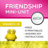 Empathy & Support in Middle School Friendships | Prezi & Printables