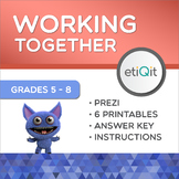 Collaborative Group Work & Leadership Mini-Unit | Prezi & Printable Activities
