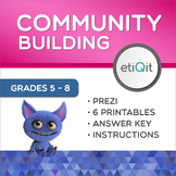Community Building & Inclusion Middle School Mini-Unit | Prezi & Printables